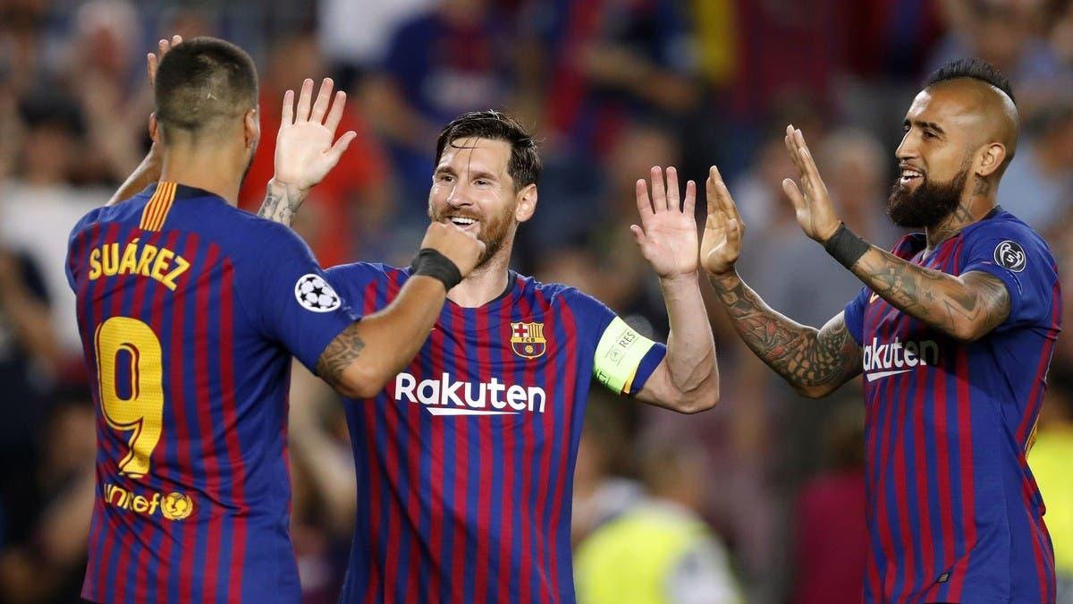 كومان يستبعد سواريز وفيدال من قائمة برشلونة