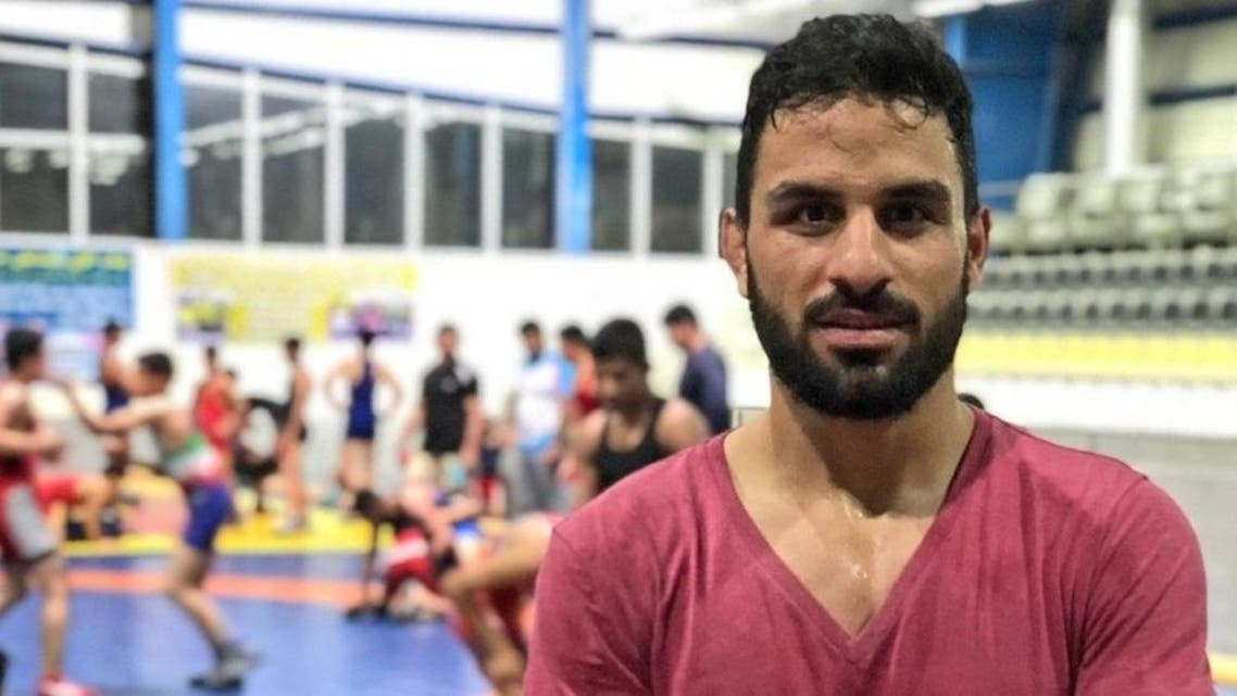 Iranian champion wrestler Navid Afkari was executed in Iran after being convicted of stabbing a security guard during anti-government protests in 2018. (Twitter)