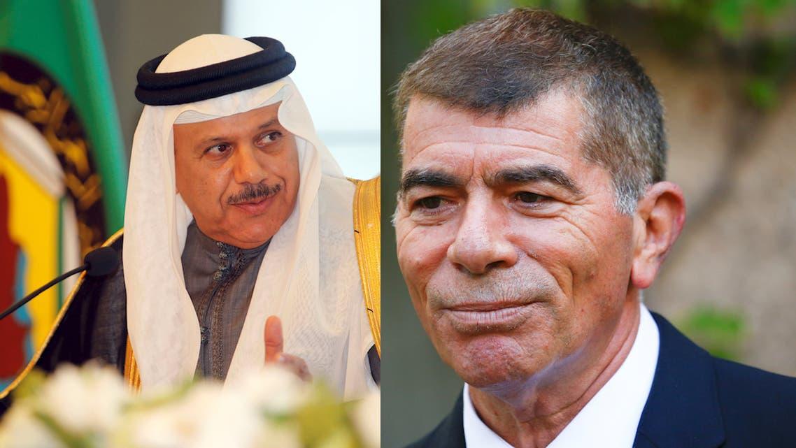 Bahrain's minister of foreign affairs Abdullatif al-Zayani and Israeli counterpart Gabi Ashkenazi Reuters