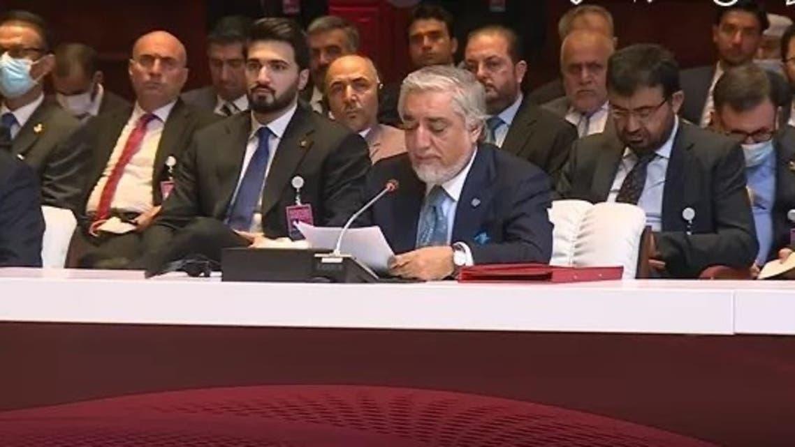 اولین نشست مذاکرات صلح میان دولت افغانستان و طالبان در قطر آغاز شد