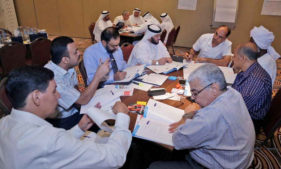 Teachers at a Moral Education training in 2017 in the United Arab Emirates. (File photo: UAE Ministry of Education)