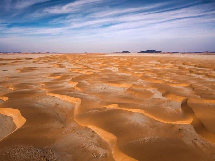 صور مدهشة للرمال.. سعودي يوثق صحراء الربع الخالي