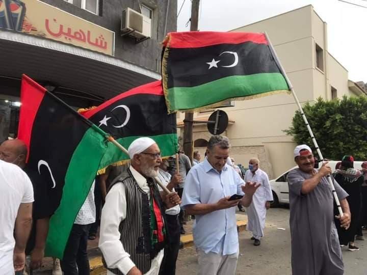 بداية احتجاج في طرابلس