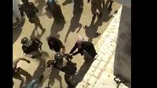 بالفيديو..الأمن التركي يعتدي على متظاهرين بينهم نساء