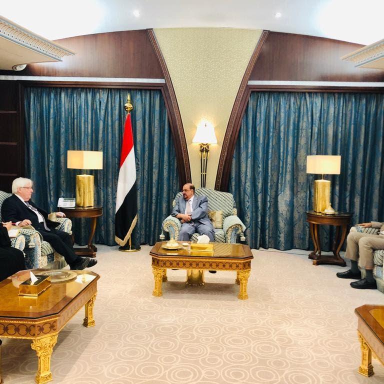 """النواب اليمني لغريفيثس: التهاون مع """"الحوثي"""" غير مقبول"""