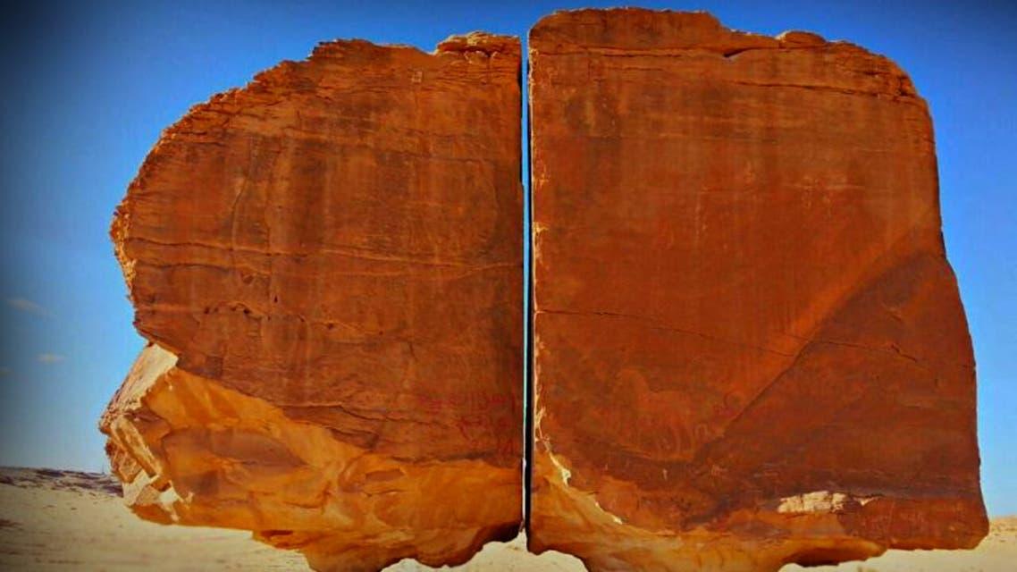 صخرة تيماء