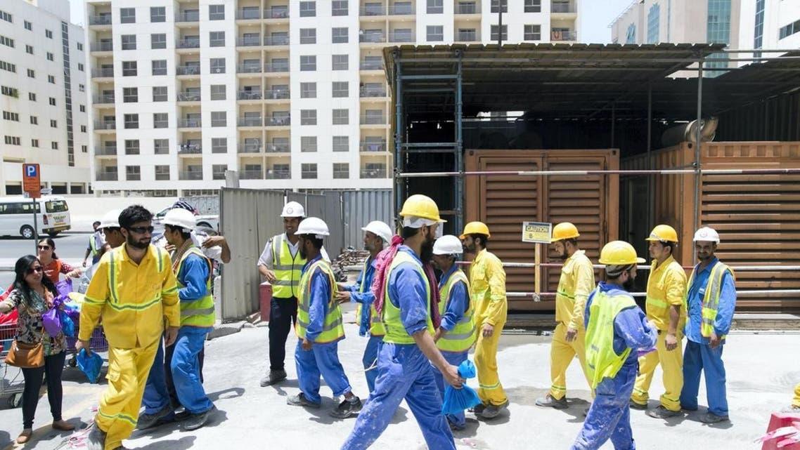 عمالة وافدة في الإمارات