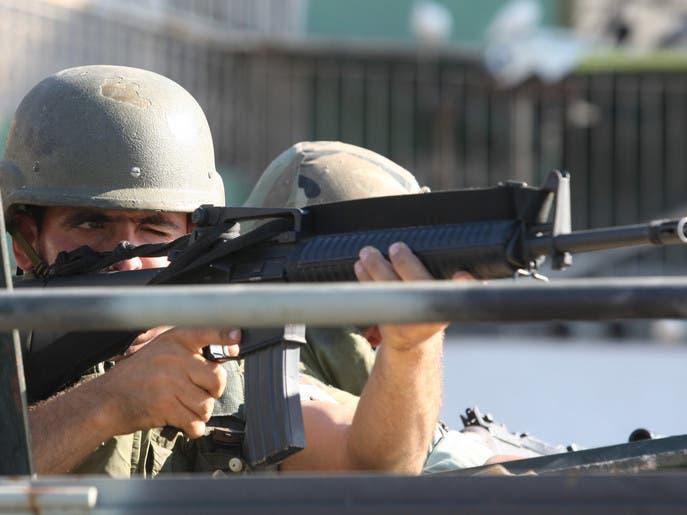 کشته شدن 3 تن از نیروهای ارتش طی عملیات تعقیب یک عنصر تروریستی در لبنان