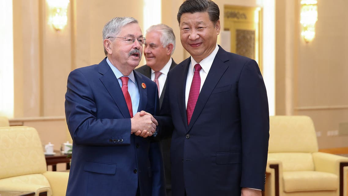 السفير الأميركي لدى الصين تيري برانستاد