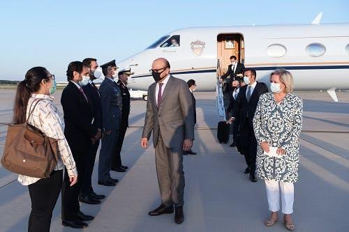 وزير خارجية البحرين الزياني يصل واشنطن (وكالة أنباء البحرين)