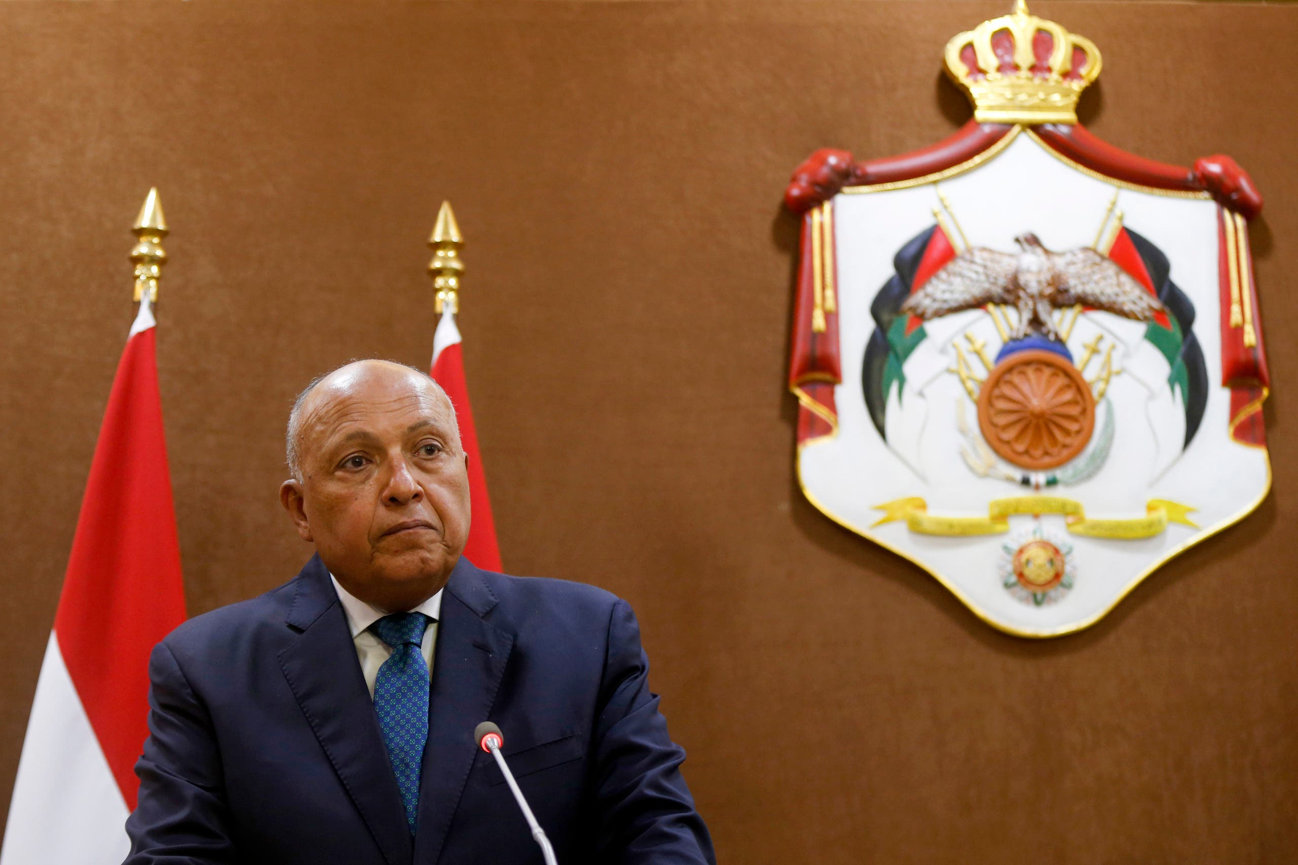 Egyptian Foreign Minister Sameh Shoukry (Archives - France Press)