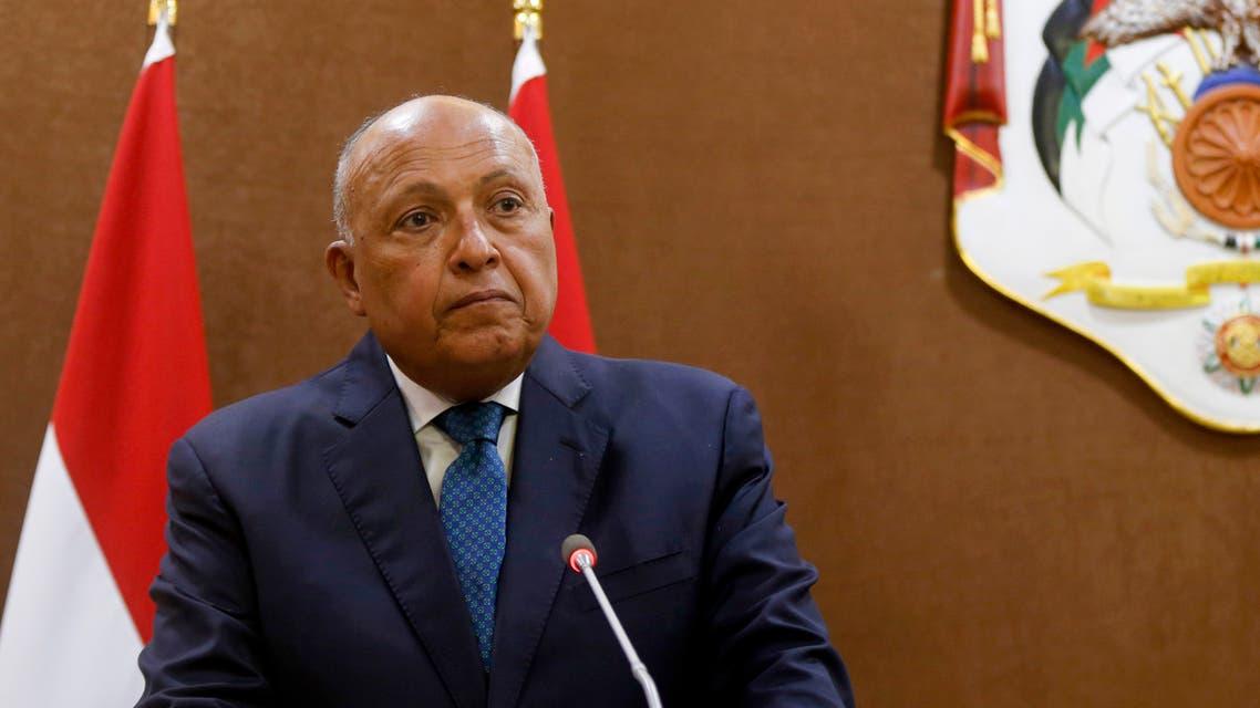 وزير الخارجية المصري سامح شكري(أرشيفية- فرانس برس)