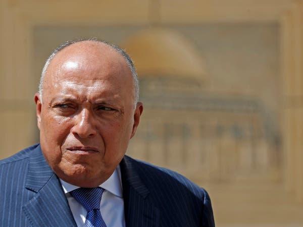 ًوزير خارجية مصر: نحرص على حل كافة النزاعات سلميا