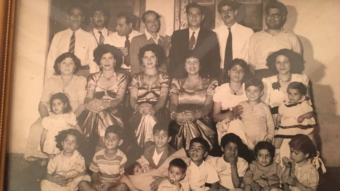 Ebrahim Nonoo and family in the early 1950s. (Supplied)