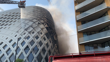 Fire breaks out in landmark building in central Beirut: Reports