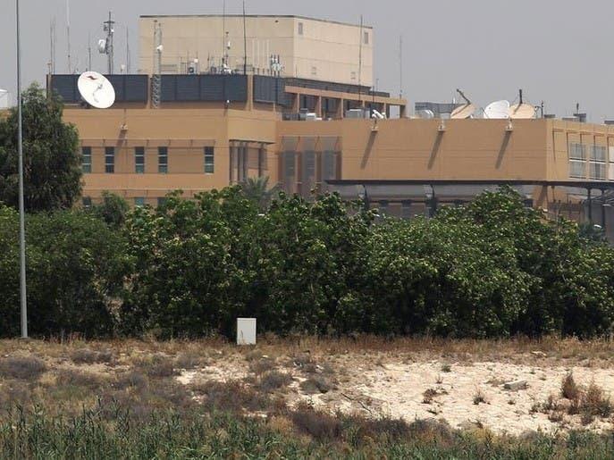 واکنش سامانههای دفاعی سفارت آمریکا به حمله راکتی به منطقه سبز بغداد