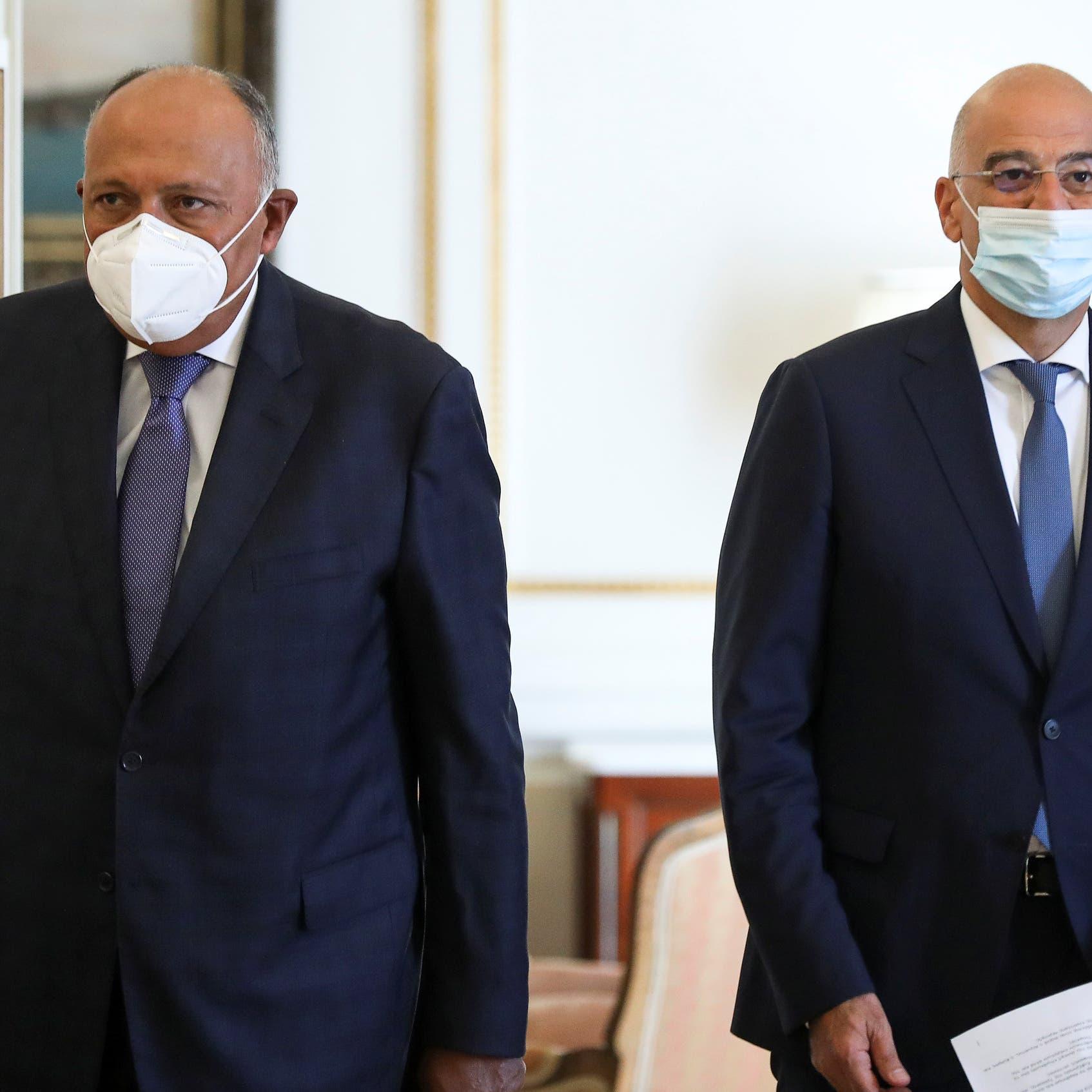 مصر واليونان: نرفض أي تصرفات استفزازية في شرق المتوسط