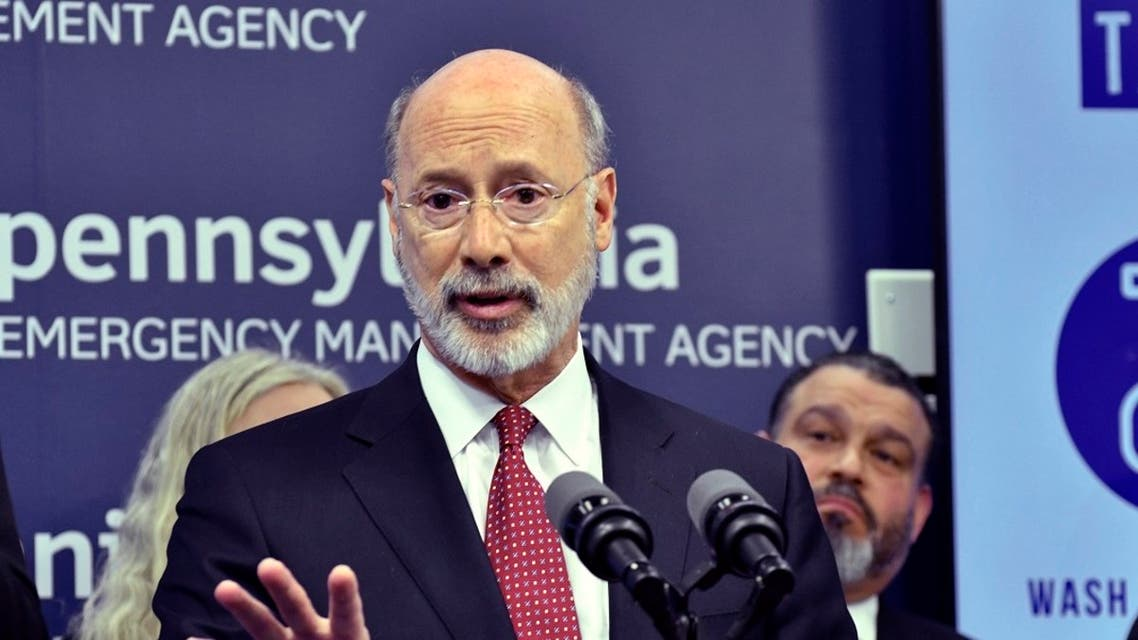 Gov. Tom Wolf of Pennsylvania speaks at a news conference at Pennsylvania Emergency Management Headquarters. (File Photo: AP)