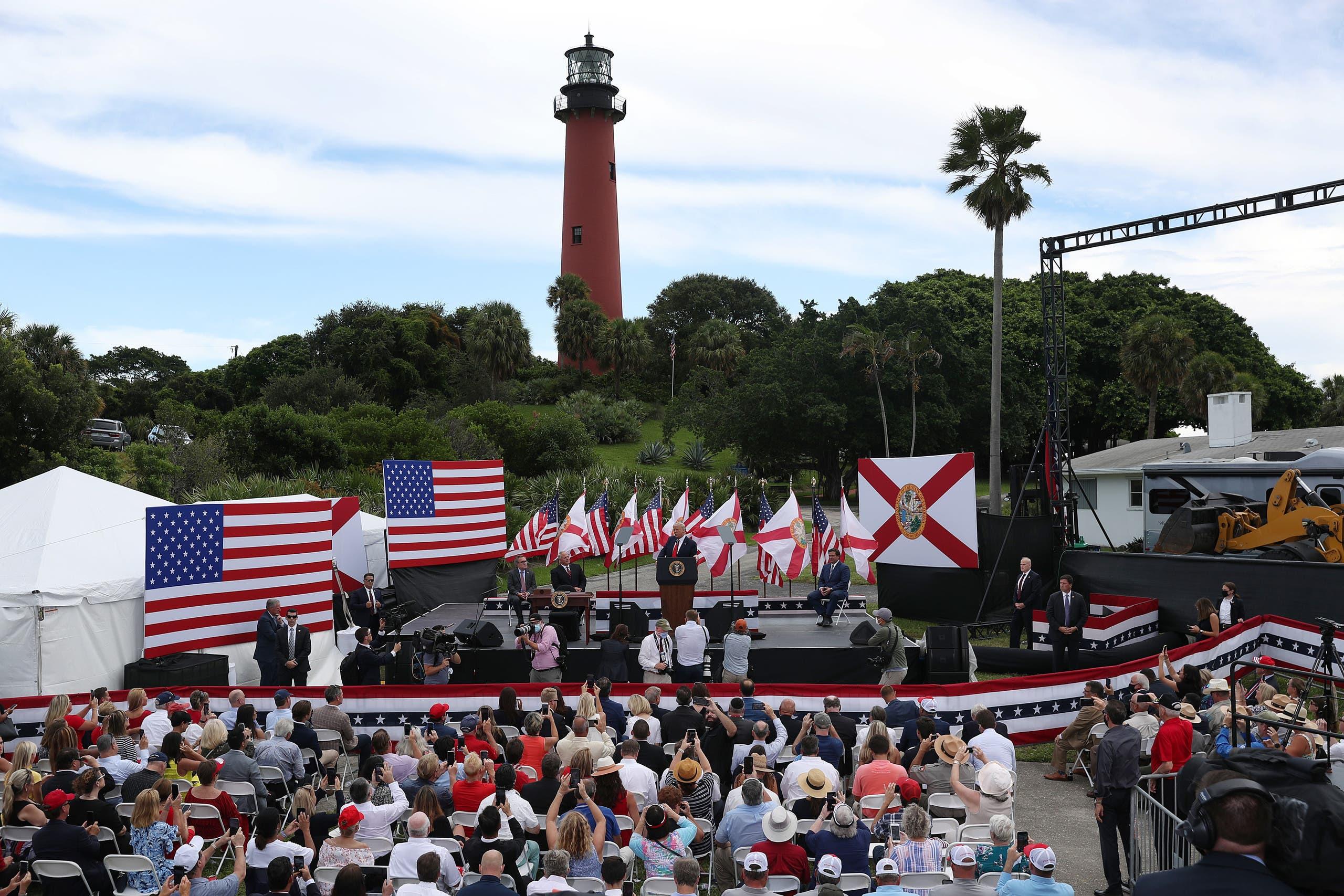 تجمع انتخابي لترمب في فلوريدا
