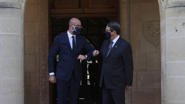 """الاتحاد الأوروبي """"حازم"""" بالدفاع عن قبرص بمواجهة تركيا"""