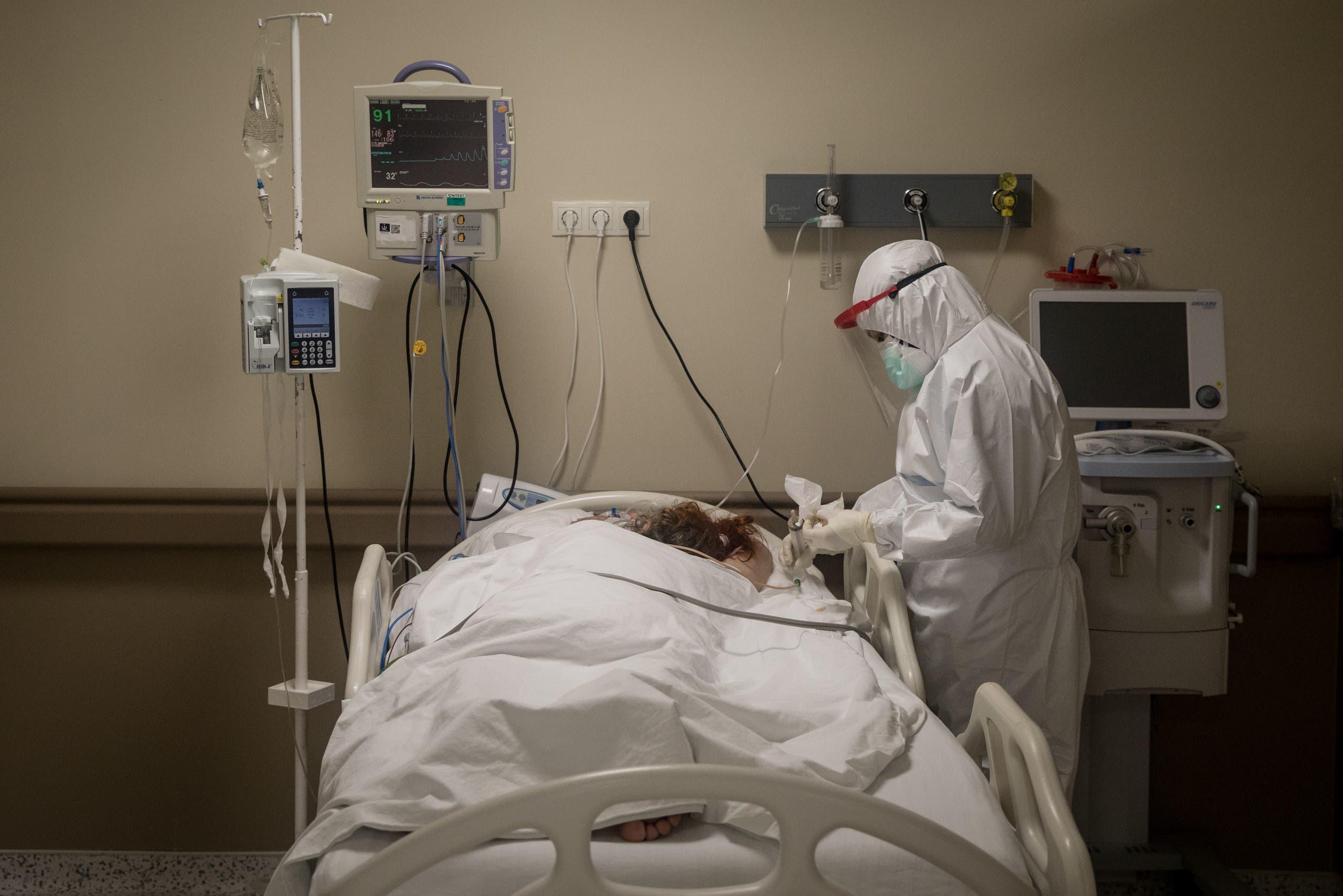 من إحدى المستشفيات في اسطنبول