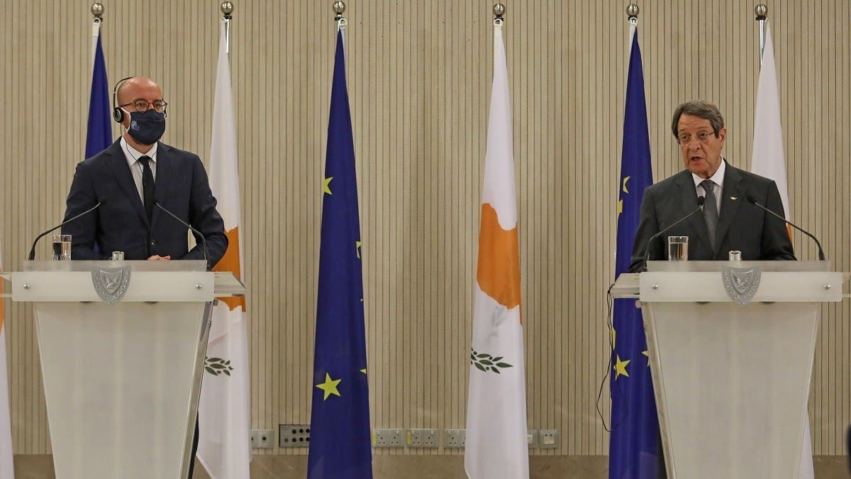 EU chief pledges to defend Cyprus rights in Turkey standoff thumbnail