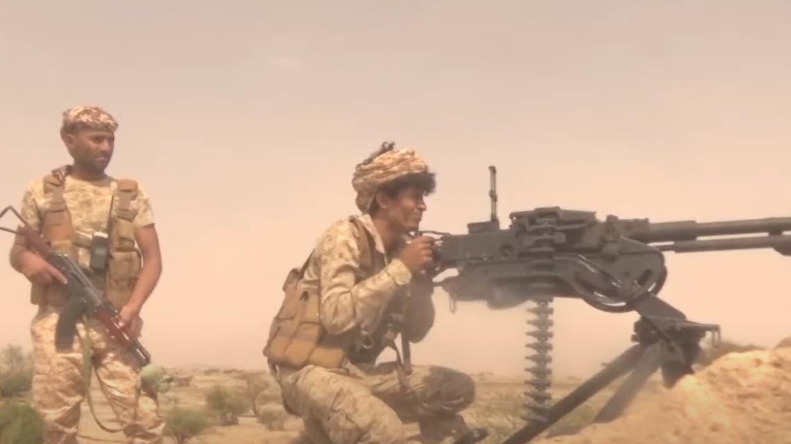 من معارك الجيش اليمني