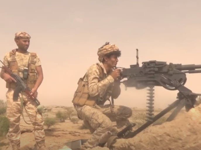 شاهد.. الجيش اليمني يحرر مواقع جديدة شرق صنعاء