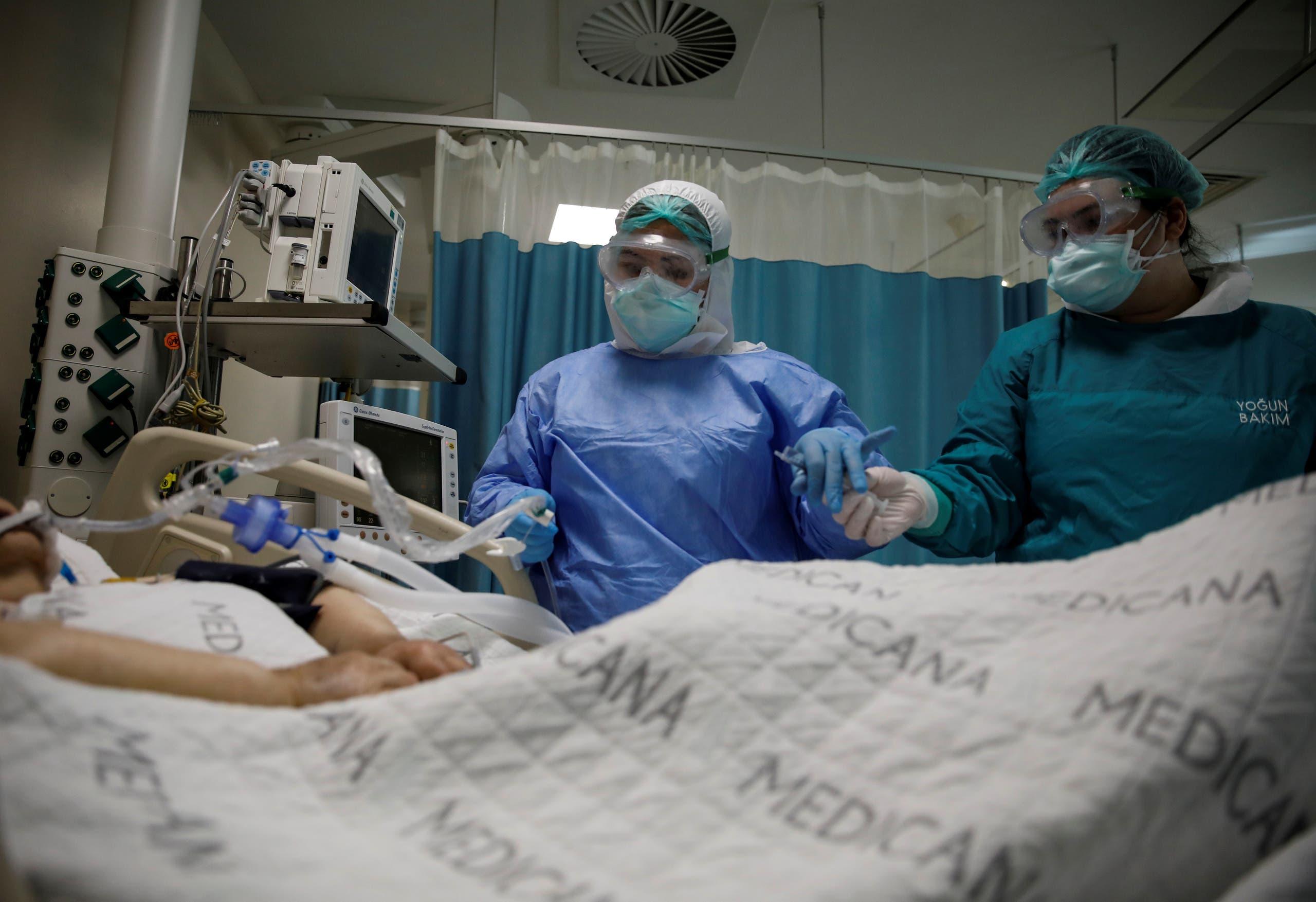 من أحد مستشفيات اسطنبول (أرشيفية)