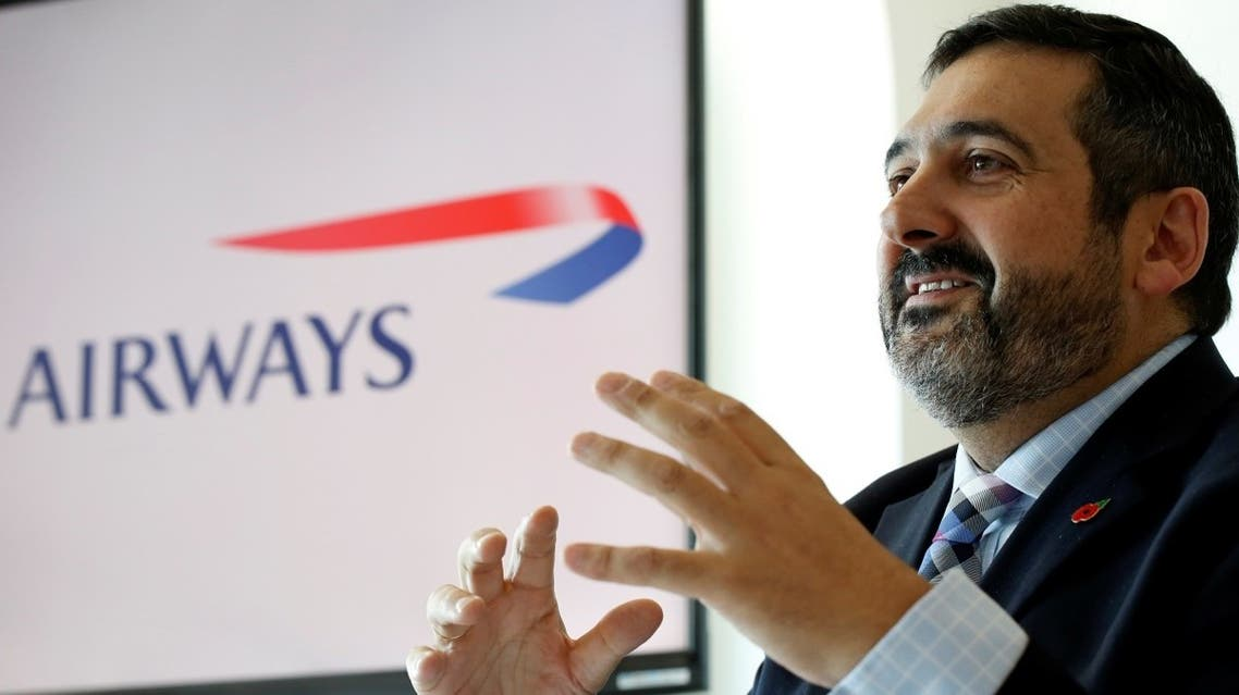 British Airways CEO Alex Cruz speaks during a news conference. (File photo: Reuters)
