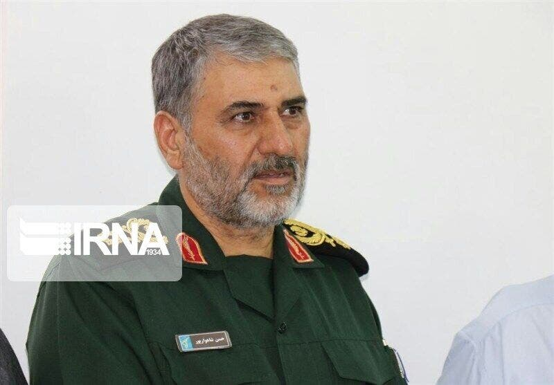 حسن شاهوار بور قائد الحرس الثوري الايراني في الأهواز