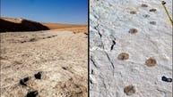 السعودية: اكتشاف آثار أقدام لبشر وحيوانات مفترسة تعود لـ 120 ألف سنة