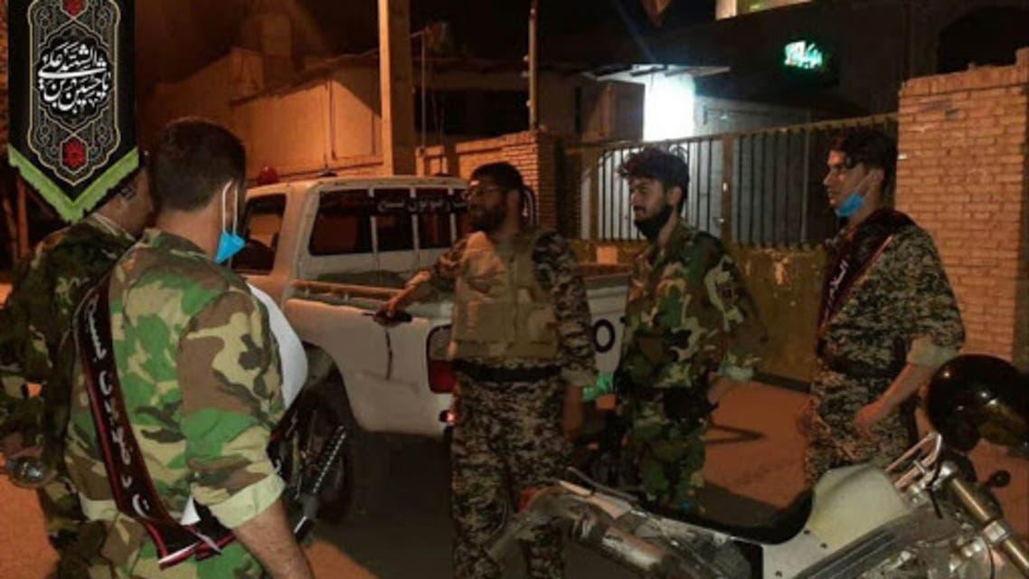 دوريات للحرس الثوري في الاهواز