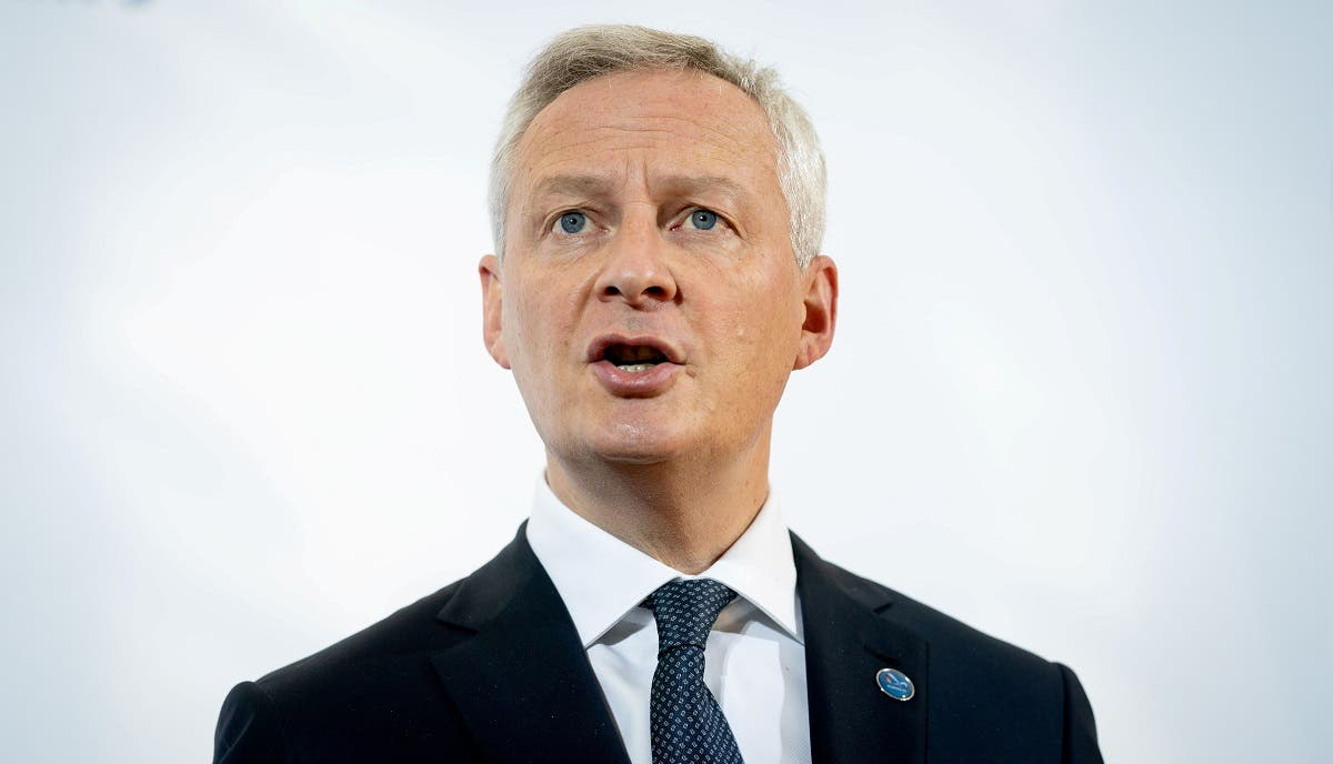 French Finance and Economy Minister Bruno Le Maire. (Reuters)