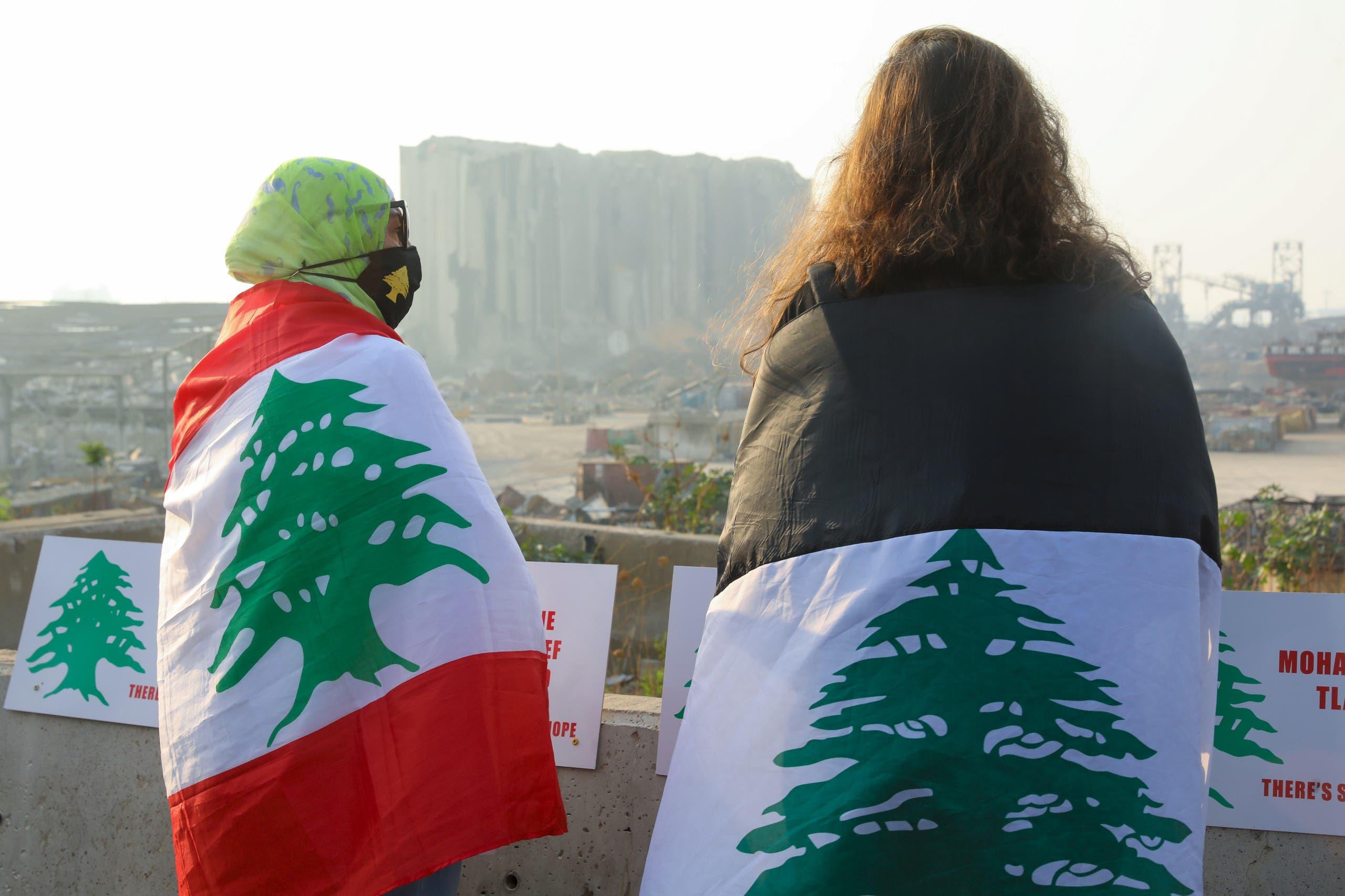 قبالة مرفأ بيروت (أرشيفية- فرانس برس)