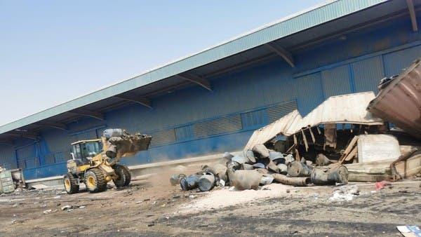 العراق يواصل إخلاء موانئه.. 3 حاويات متفجرة في أم قصر
