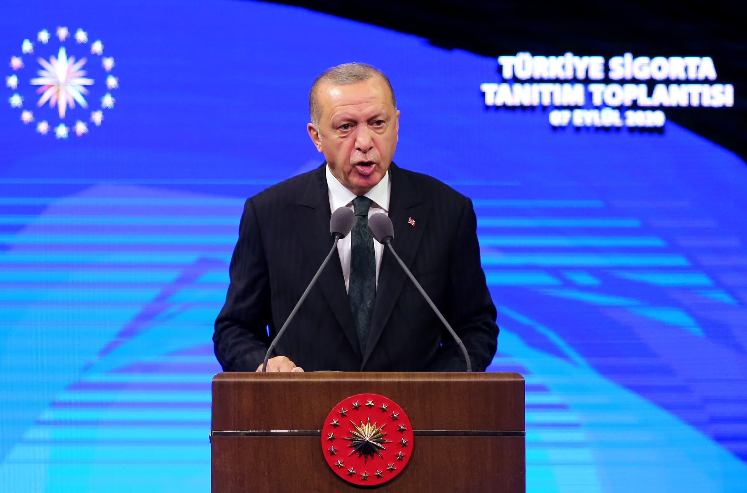 الرئيس التركي رجب طيب أردوغان (أرشيفية- فرانس برس)