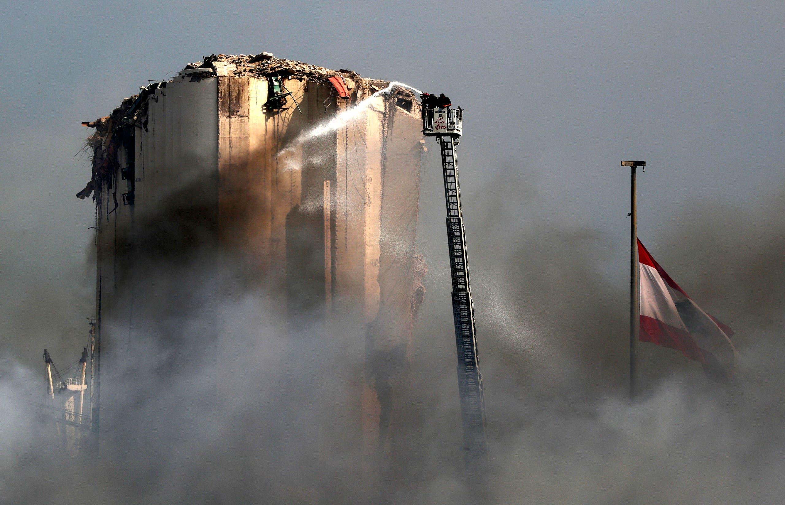 من انفجار مرفأ بيروت (أرشيفية)