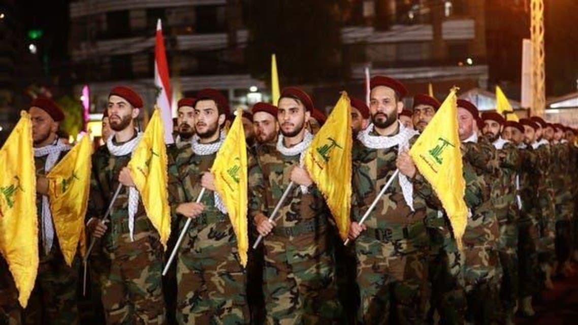 Fighters of Lebanese Shia Hezbollah