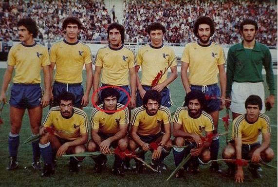 Habib Khabiri was a member of Iran's men's national football team. (Twitter)