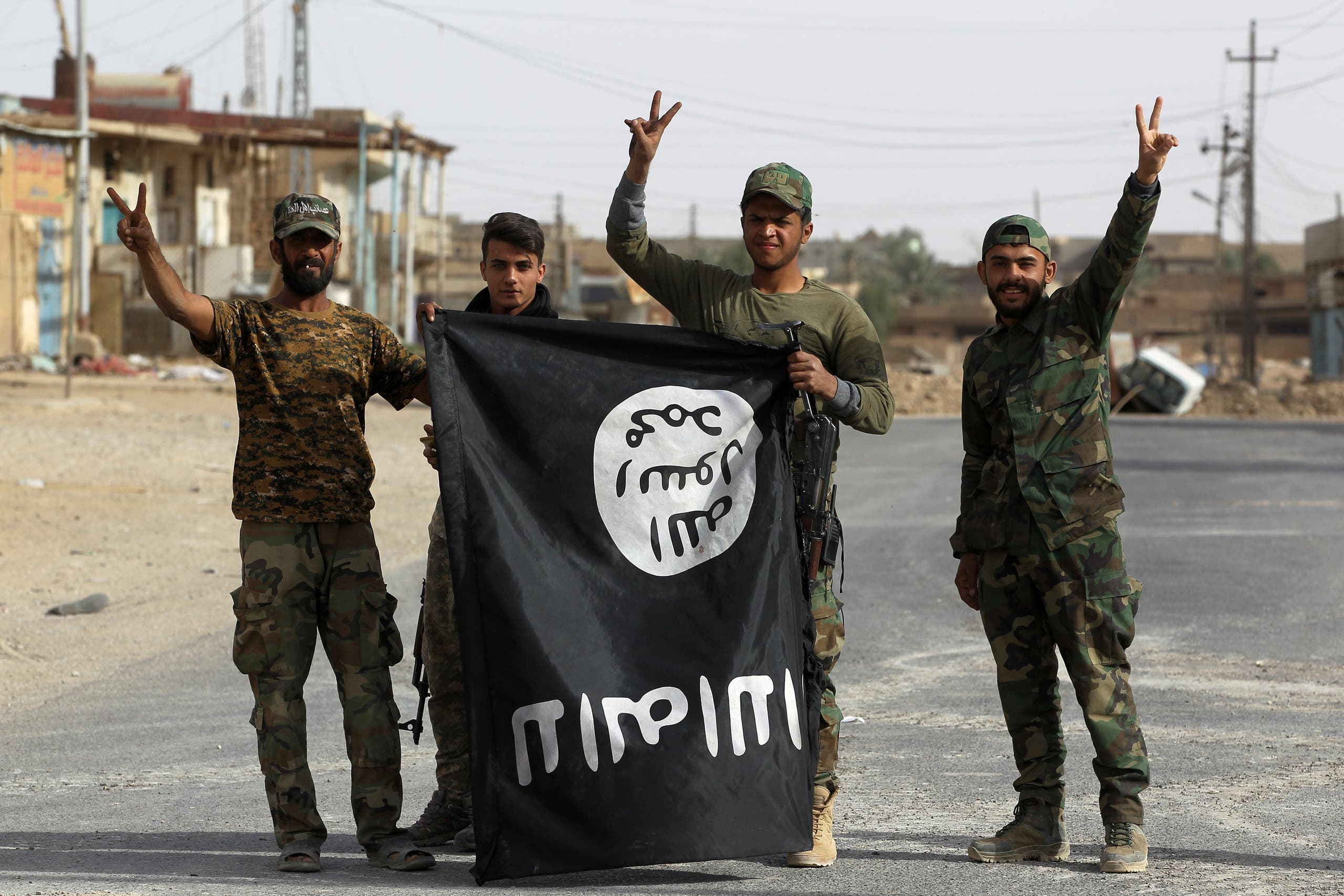 راية داعش في العراق (أرشيفية- فرانس برس