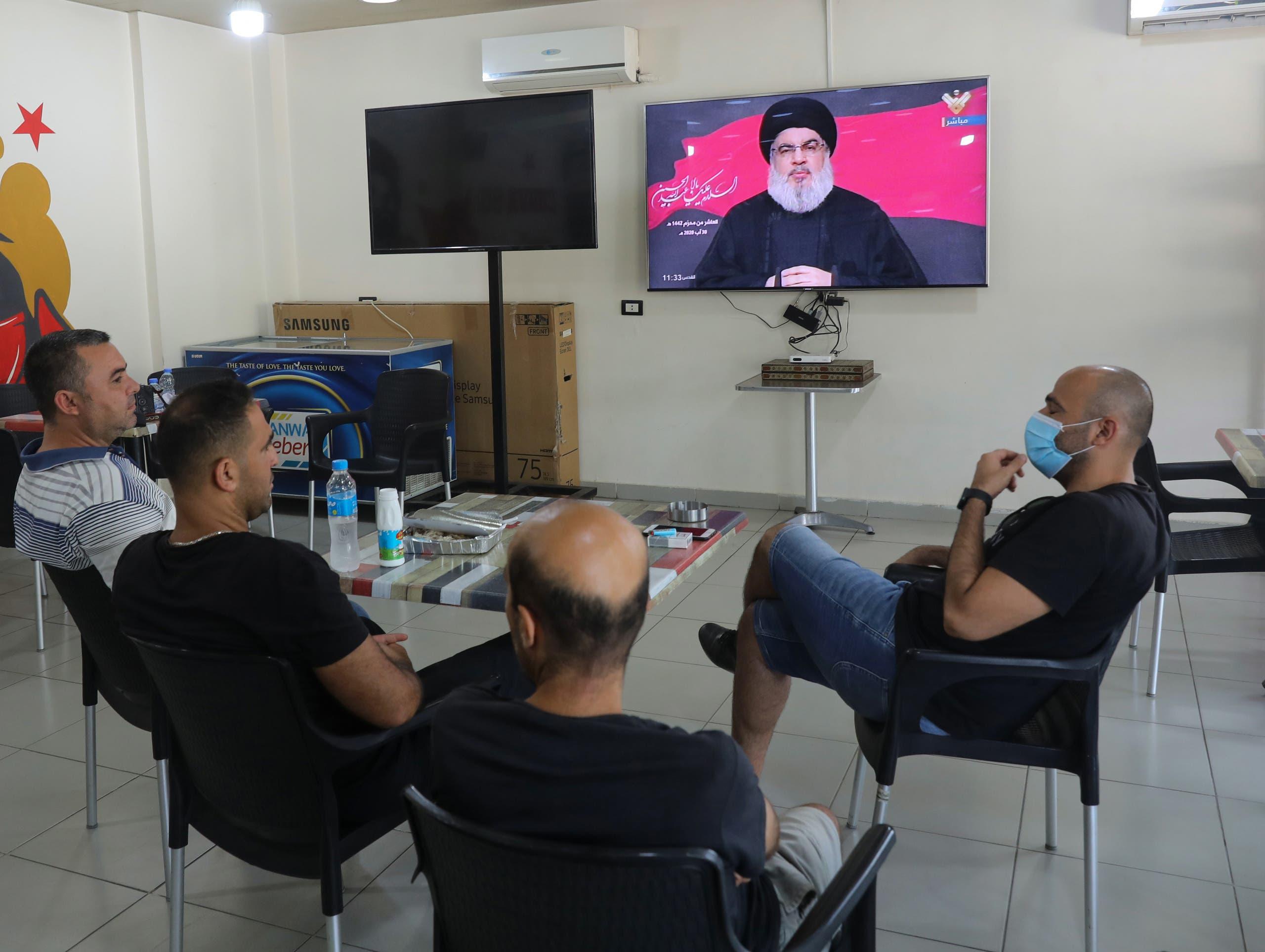 حسن نصرالله زعيم حزب الله (أرشيفية- فرانس برس)