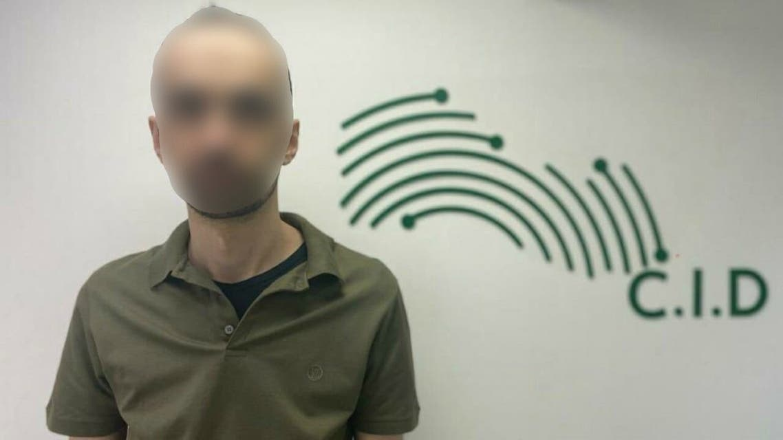 "Denis Matoshri, a leader of the Albanian-speaking ""Kompania Bello"" criminal group. (Dubai Police/Twitter)"