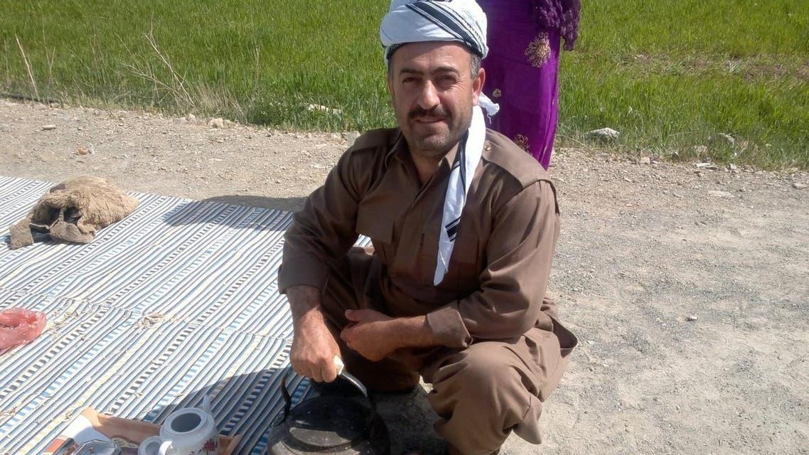 Haydar Ghorbani, an Iranian Kurdish political prisoner. (Twitter)