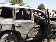 انفجار موتر بمبگذاری شده در بلخ افغانستان؛ یک کشته و هشت زخمی برجای گذاشت