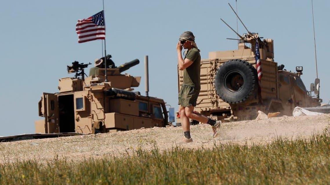 شام میں امریکی فوج