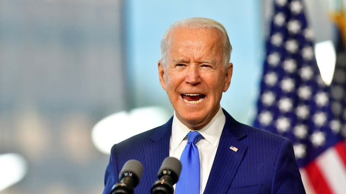 Democratic U.S. presidential nominee and former Vice President Joe Biden delivers remarks regarding the Supreme Court at the National Constitution Center in Philadelphia. (Reuters)