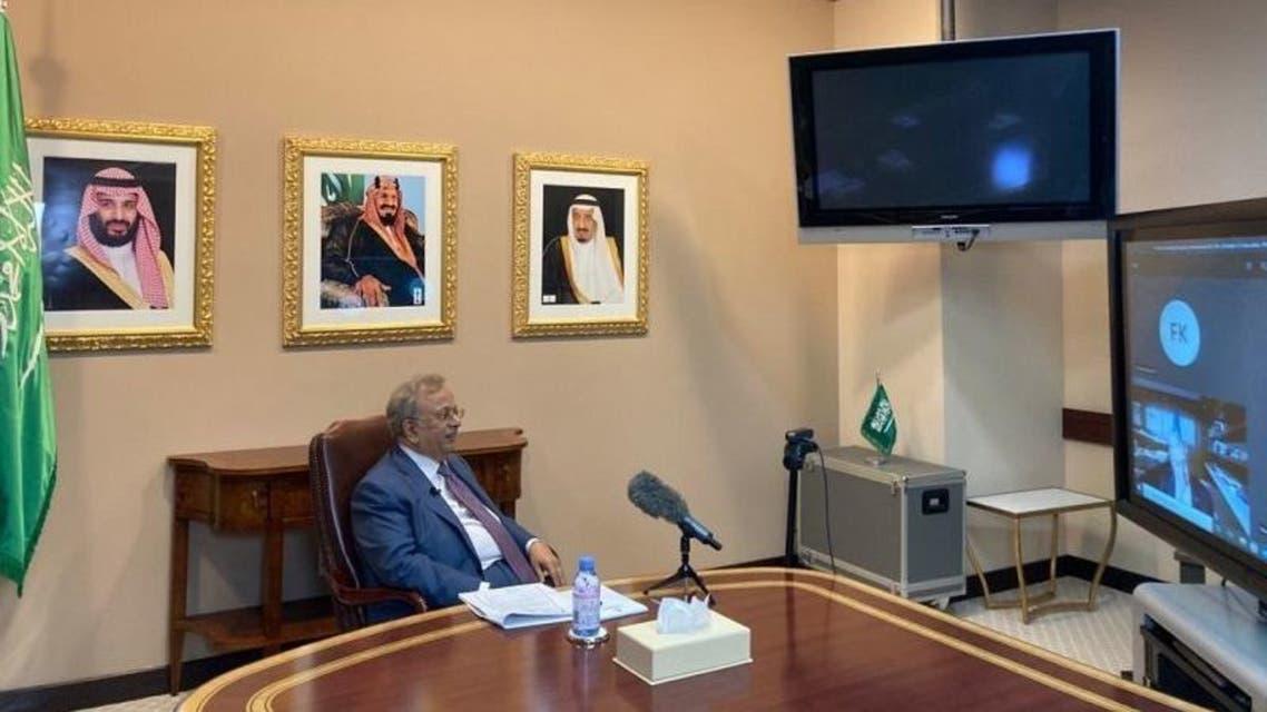Permanent Representative of Saudi Arabia to the United Nations Ambassador Abdullah bin Yahya al-Mouallimi. (SPA)