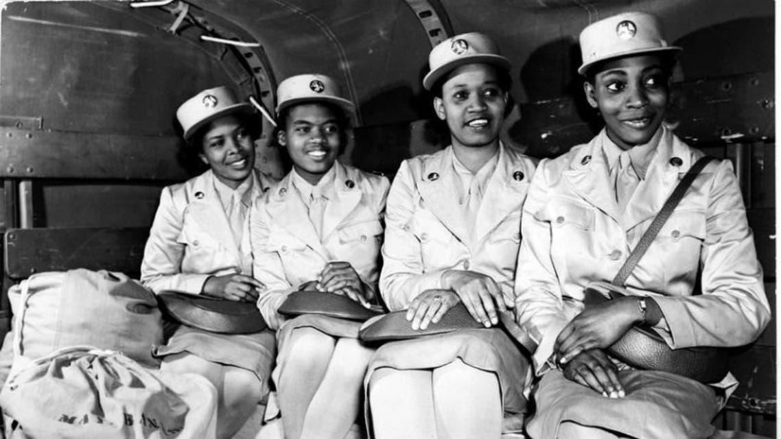 صورة لنساء من السود عملن بالجيش الأميركي خلال الحرب العالمية