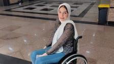 """متفوقة مصرية من ذوي الهمم تحقق حلمها عبر """"السوشيال ميديا"""""""